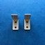 1 PAIR OF PLEATED BLIND EXTENSION BRACKETS